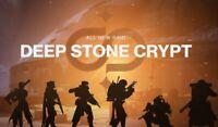 Destiny 2 Deep Stone Crypt+Chests Full Raid Cross Save (Xbox, PS4, PC) Same Day