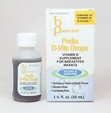 24 pack Pedia D-Vite Infant &Toddler Vitamin 50mL 400iu D3- compare to D Vi Sol