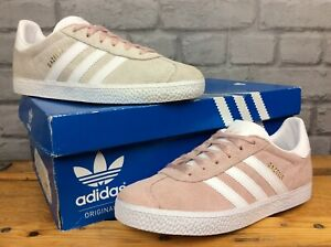 ADIDAS GAZELLE ORIGINALS VAPOUR PINK TRAINERS REDYE VARIOUS SIZES CHILDRENS