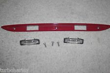 98-00 MERCEDES SLK230 red TRUNK LID TRIM HANDLE LICENSE PLATE LIGHT R170