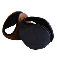 Hot Ear Muffs Winter Ear Fleece Earwarmer Mens Womens Behind the Head Band FO