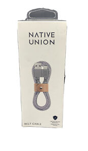 Native Union - 4' USB Type C-to-USB Type A Cable - Zebra - Open Box