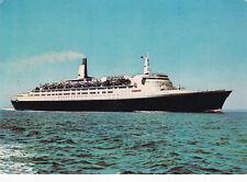 RMS Queen Elizabeth II Postcard used VGC