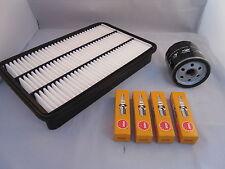 Vauxhall Frontera 2.2 Petrol Service Kit Oil + Air Filter Spark Plugs 1998-2004