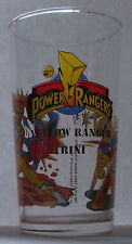 Verre à moutarde long drink POWER RANGERS 1994. Yellow Ranger Trini. VM979