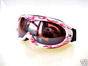 Ravs Ski Goggles Women's Goggles - Helmet Compatible Contrast Enhanced