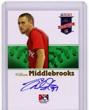 Will Middlebrooks 08 Tristar Projections GREEN AUTO Rookie SP /50 RED SOX HOT
