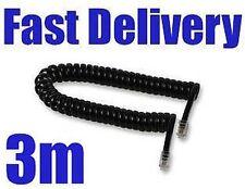 Câbles, cordons et adaptateurs pour téléphone fixe 3 m