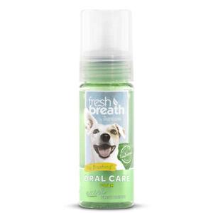 TropiClean Oral Care Foam 133ml - Gel Dog Puppy Natural Dental