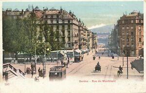 GENEVE – Rue du Montblanc –Geneva – Switzerland