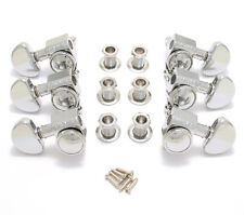 Grover Chrome Roto-Grip Locking Guitar Tuners for Gibson Les Paul SG® 502C