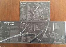 COMPUTER GAMERS XL MOUSE MATS AR15 M16 M4 BATTLE RIFLE & for BERETTA 92 M9