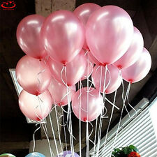 100pcs 10 inch Colorful Pearl Latex Thickening Wedding Party Birthday Balloons