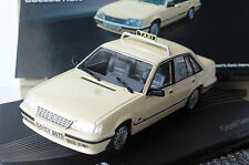 OPEL SENATOR A2 3.0E TAXI WHITE IXO ALTAYA 1/43 MODEL CAR SCALE 1:43