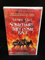 STEPHEN KING SOMETIMES THEY COME BACK VHS