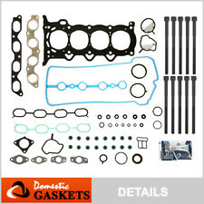 Fit 00-13 Toyota Prius Yaris Echo Scion xA xB 1.5L Head Gasket Set+Bolts 1NZFE
