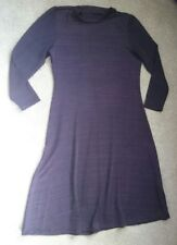 M&CO PURPLE/BLACK DRESS SIZE 10