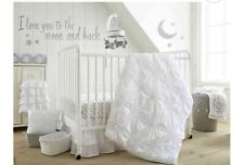 Levtex Baby Willow White 5-Pc Crib Bedding Set Includes Crib Bumper