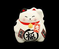 Manekineko Hucha Gato Japonés Amuleto de la Suerte Japón Maneki Neko -108