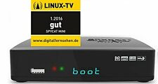 SPYCAT Mini DVB-C/T Receiver Linux E2 Digital WLAN USB LAN 1080p Bluetooth HDTV