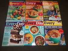 2013-2014 EVERYDAY WITH RACHEL RAY MAGAZINE LOT OF 13 - NICE PHOTOS - O 2267