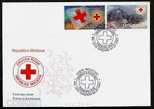 2003 Red Cross,War,Crocce Rosa,Rotes Kreuz,Cruz Roja,Croix Rouge,Moldova,467,FDC