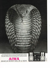 PUBLICITE ADVERTISING 035  1986  AIWA  chaine hi-fi  VX-7700