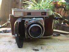 Kodak Retina IIIc Camera With Case & Strap Untested *