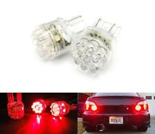 2x 580 7443 W21/5W Bulb 15 LED Turn Indicator Tail Brake Stop Light 582 7440 Red