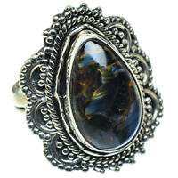 Pietersite 925 Sterling Silver Ring Size 6.5 Ana Co Jewelry R47728F