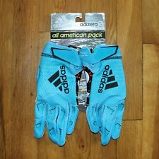 New Adidas Adizero 8.0 Football Gloves Receiver All American Pack Sz M CM5887