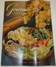 Gourmet Magazine Creative Cake Decorating & Eggs May 1966 102414R