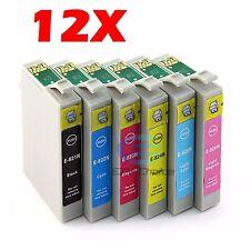 12x Compatible Ink Cartridge for Epson TX650 TX710W TX810FW Printer AU