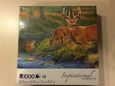 """Inspirational Moments """"Mists of Autumn"""" 1000 piece puzzle NEW"""