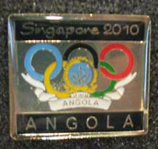 Singapore 2010 rare ANGOLA YOG Olympic NOC team pin