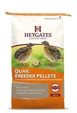 Heygates Quail Feed & Partridge Layers  Feed / Food 2mm Pellet  20kg (MMCS)