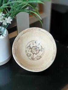 14th Century A.D. Sukhothai Underglazed Decorared Bowl