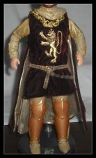 OUTFIT KEN DOLL MATTEL CAMELOT'S KING ARTHUR TUNIC WITH CAPE BODYSUIT SLIPPER