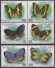 F-EX26072 VANUATU MNH 1983 BUTTERFLIES MARIPOSAS PAPILLON INSECT ENTOMOLOGY.