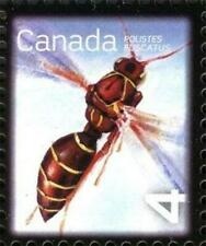 2010 Canada 🍁 BENEFICIAL INSECTS 🍁 PAPER WASP; Single MNH; Scott #2406