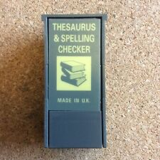 Psion II Thesaurus and Spelling Checker datapack and manual.