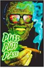 Puff Puff Pass Non-Flocked Blacklight Poster 24x36 inches