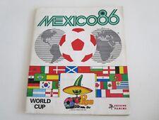 PANINI MEXICO 86 Fußball WM 1986 Sammelalbum Weltmeisterschaft Komplett