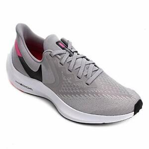 Nike Zoom Winflo 6 Gray/Black/Pink Multi AQ7497-011 Running