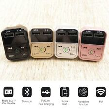 Durable Dual USB Charger Car Wireless FM Bluetooth Transmitter MP3 Handsfree 1pc