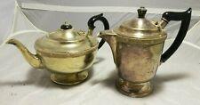 Antique ~ Vintage ~EPNS ~Teapot and Coffee Pot~ Ornate ~ Decorative~VGC
