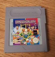 Gameboy Gallery 5 in 1 Nintendo Gameboy  Game cart only