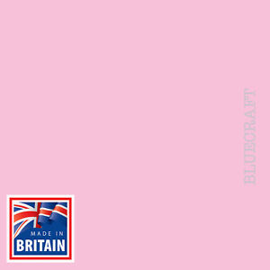 10 pack x A5 Papago Premium Pastel Pink Blank Flat Invite Cards 240gsm