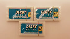 DERBY Extra Blue Professional Double Edge Safety Razor Blades