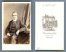 Reverend Henry Pollinger, Wesleyan Methodist Church CDV, Appleton &Co., Bradford